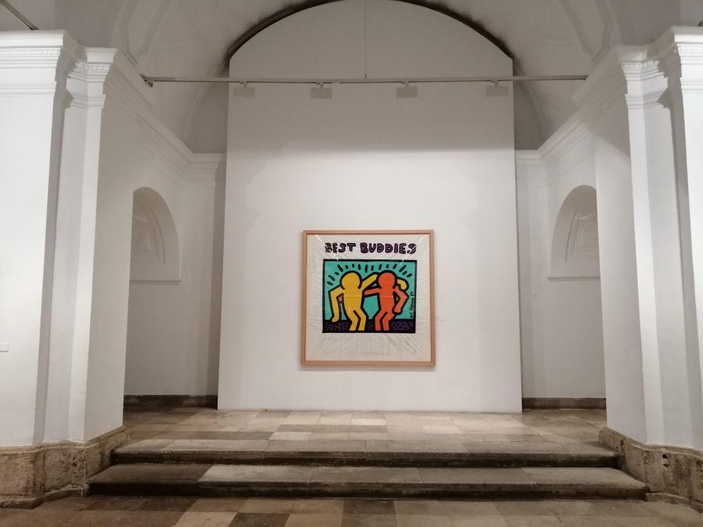 muestra de Keith Haring en la Pasión