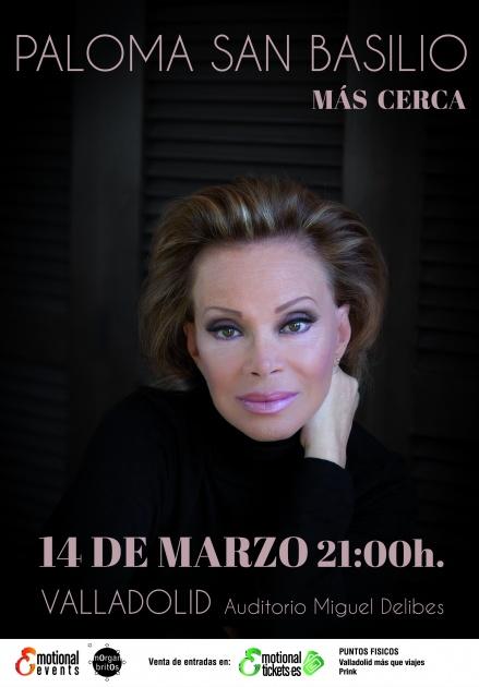 Concierto de Paloma San Basilio en Valladolid