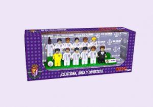 muñecos jugadores fútbol valladolid