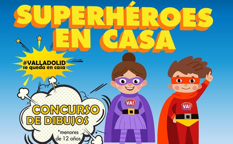 concurso superhéroes en casa en Valladolid