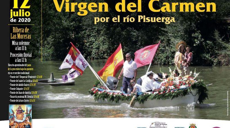 procesion virgen del carmen valladolid