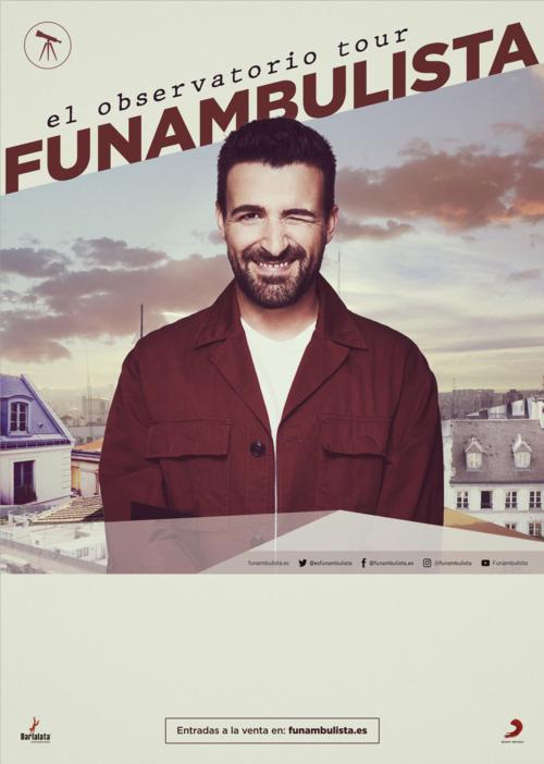 Cartel del concierto de Funambulista en Valladolid