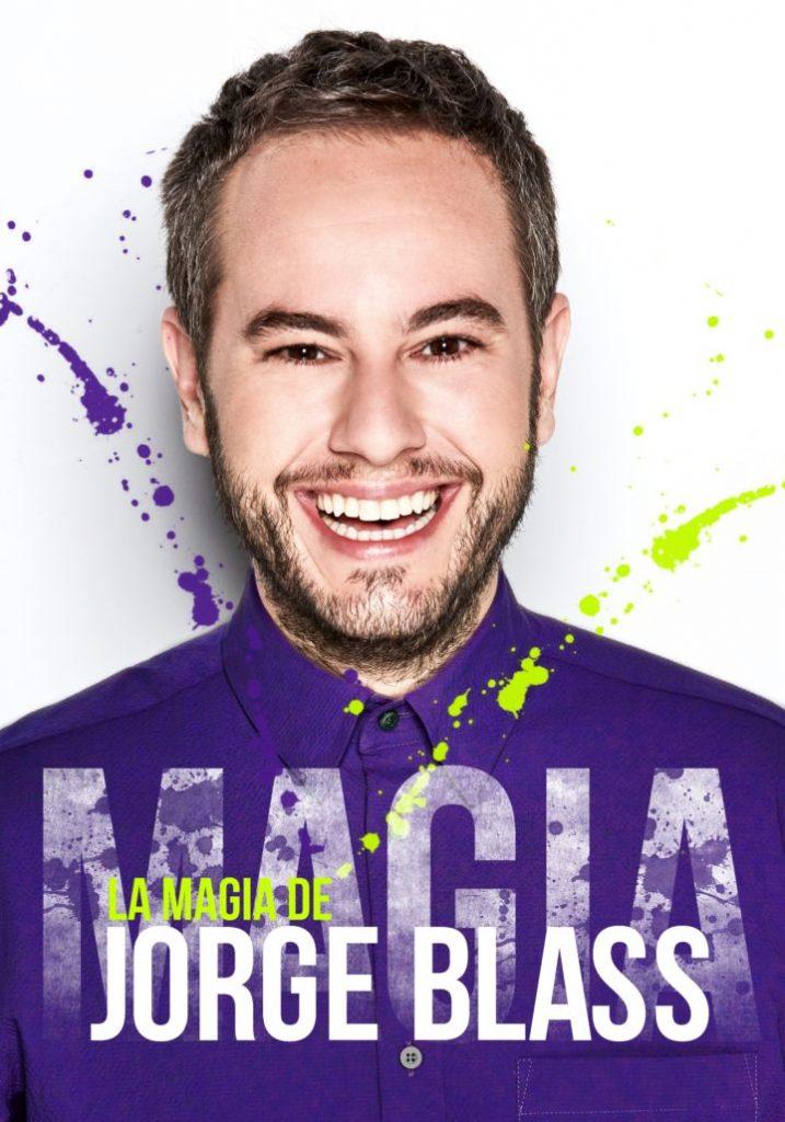 Cartel de la magia de Jorge Blass en Valladolid