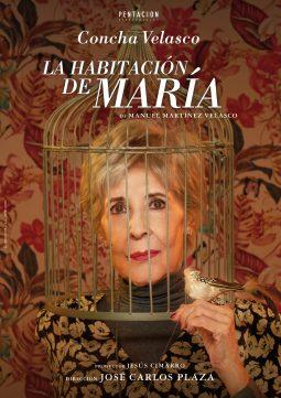 Cartel de la obra La habitación de María con Concha Velasco