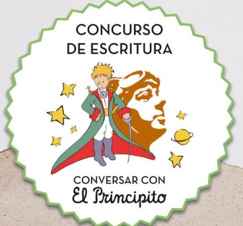 cartel del concurso conversar con el principito