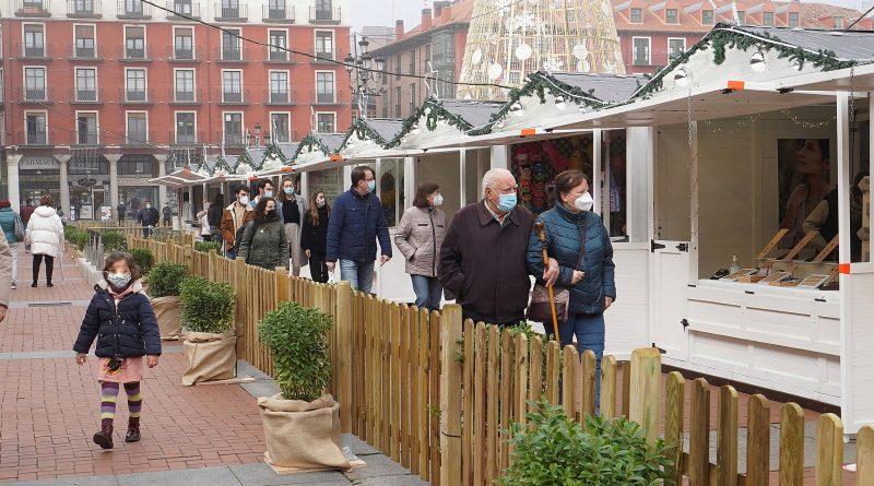mercado navidad plaza mayor valladolid