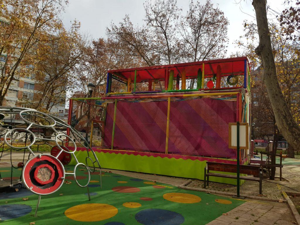 parques infantiles navidad valladolid