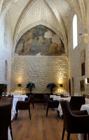 restaurante estrella michelin refectorio