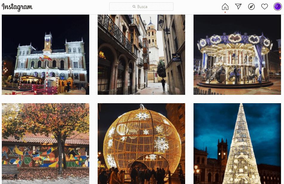 Cuenta de Instagram Ocio Valladolid