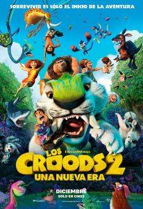 cartel de los croods 2