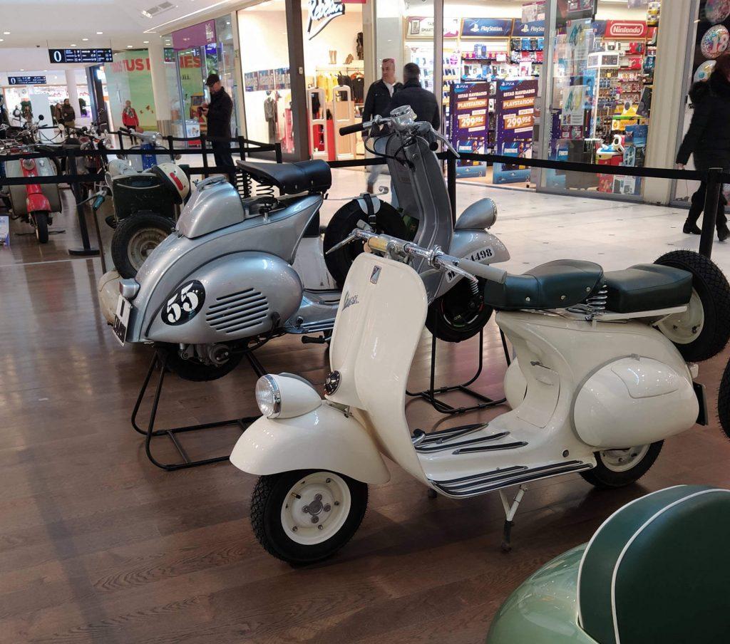 motos clásicas Pingüinos