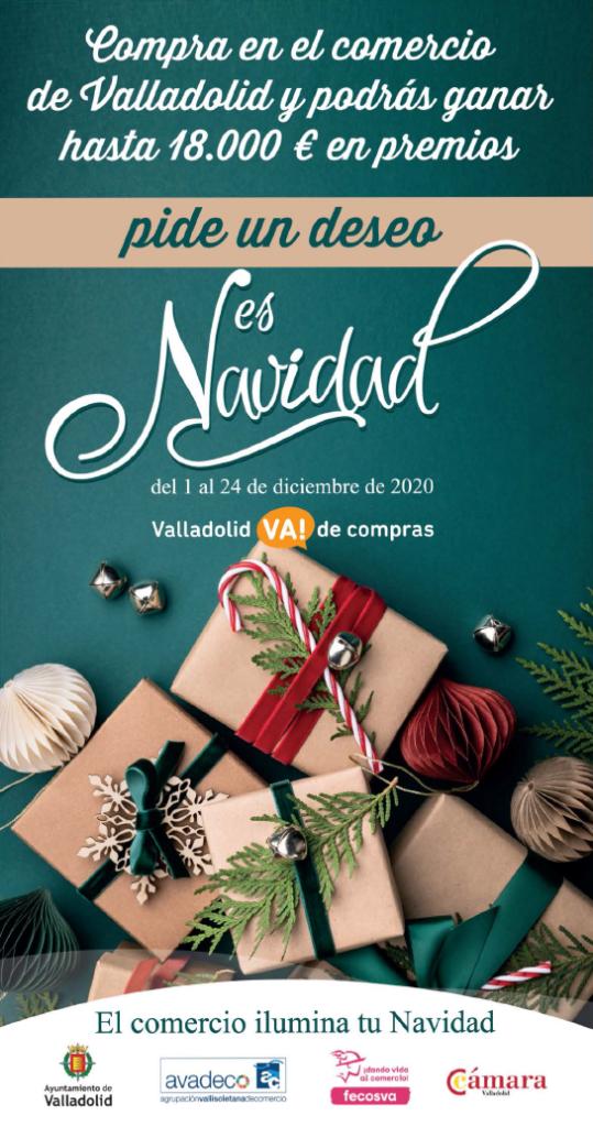 Cartel del sorteo de los deseos de Valladolid