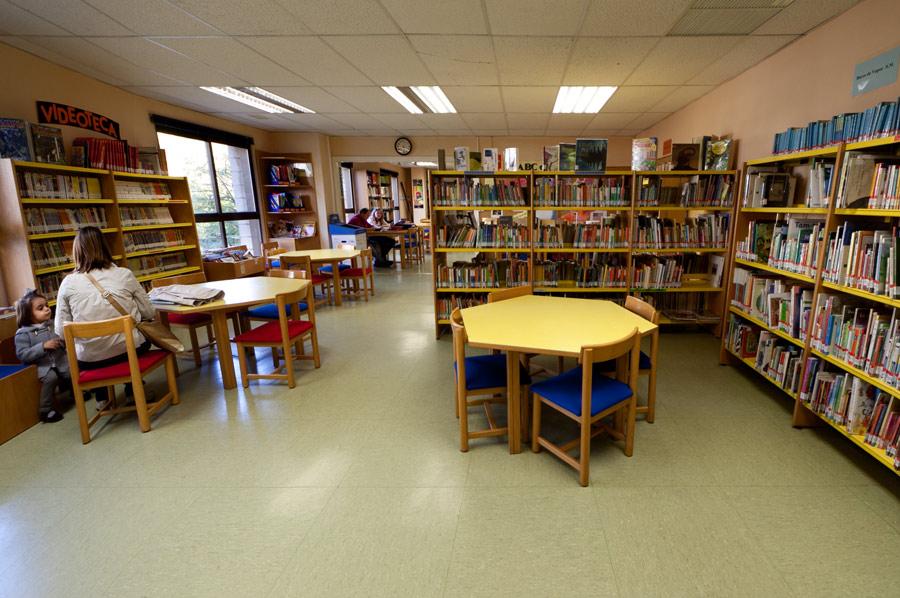 imagen interior de la biblioteca rosa chacel