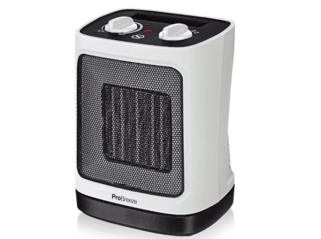 pro breeze calefactor aire caliente