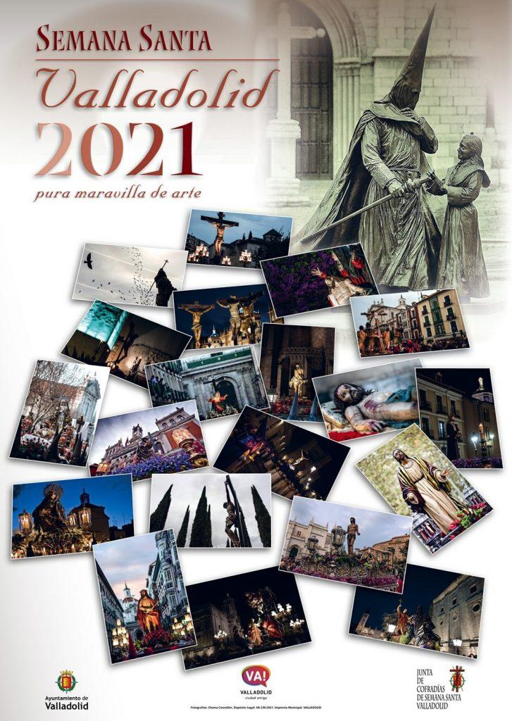 Cartel oficial de la semana santa valladolid 2021