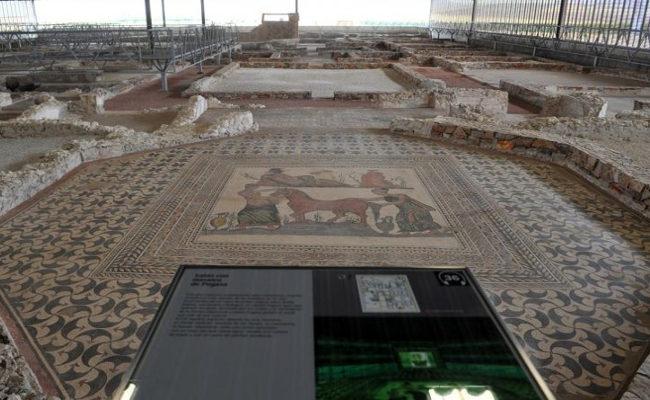 museo-villa-romana-con niños