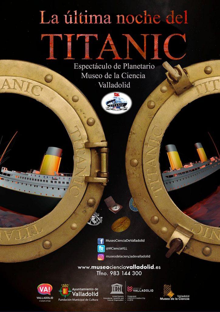 exposición de Titanic