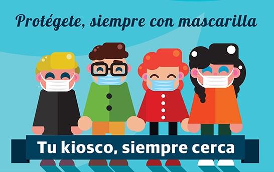 cartel del concurso de dibujo infantil decora tu mascarilla