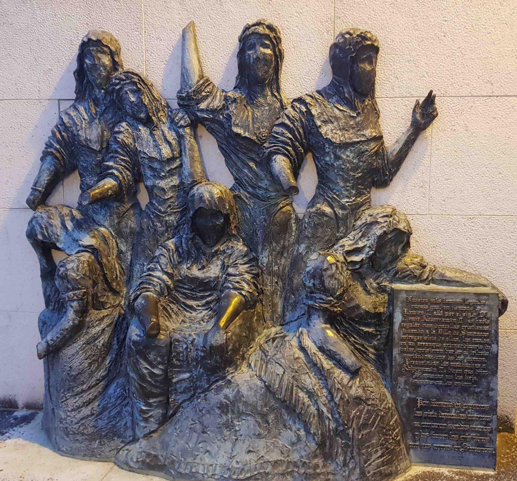 escultura de las doncellas de Simancas