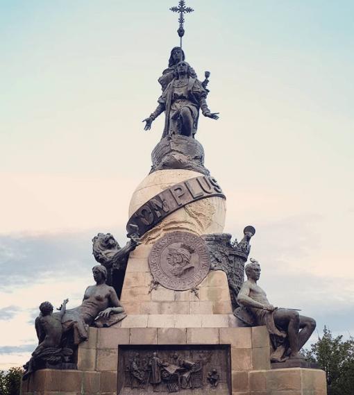 monumento colón valladolid