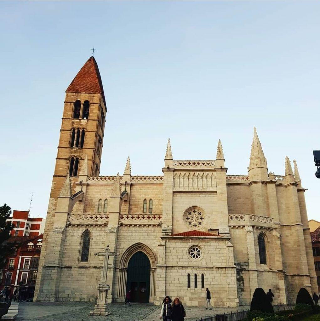 Iglesia de la antigua Valladolid