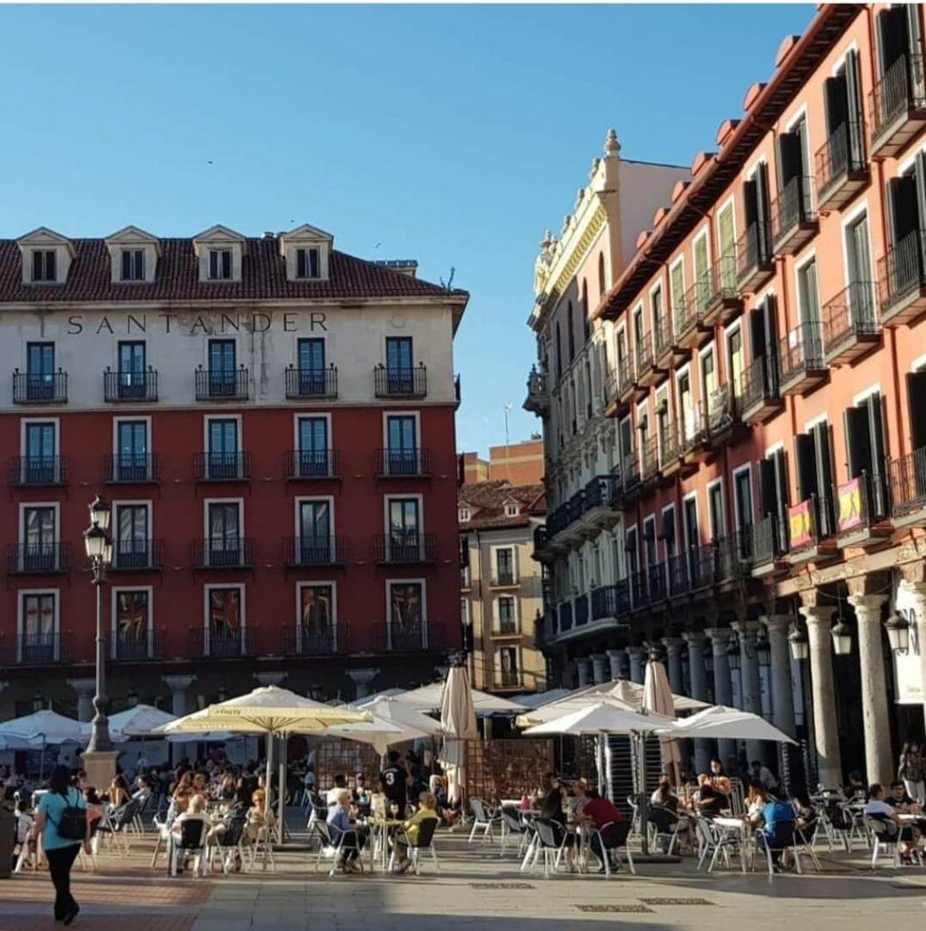 Plaza Mayor de Valladolid visita