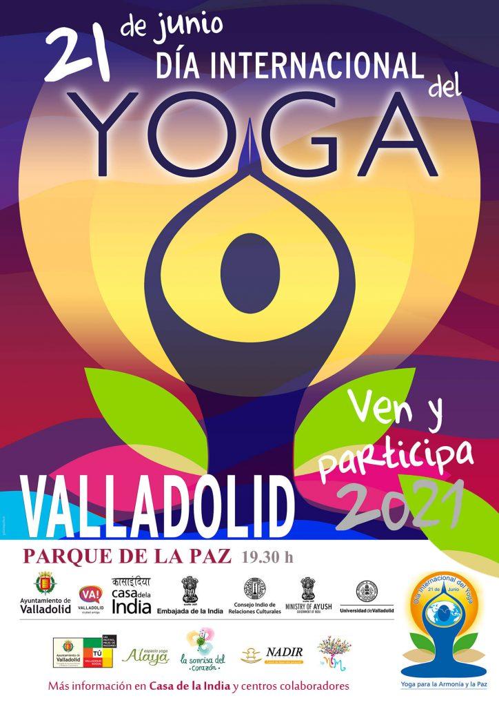 yoga en Valladolid 21 junio