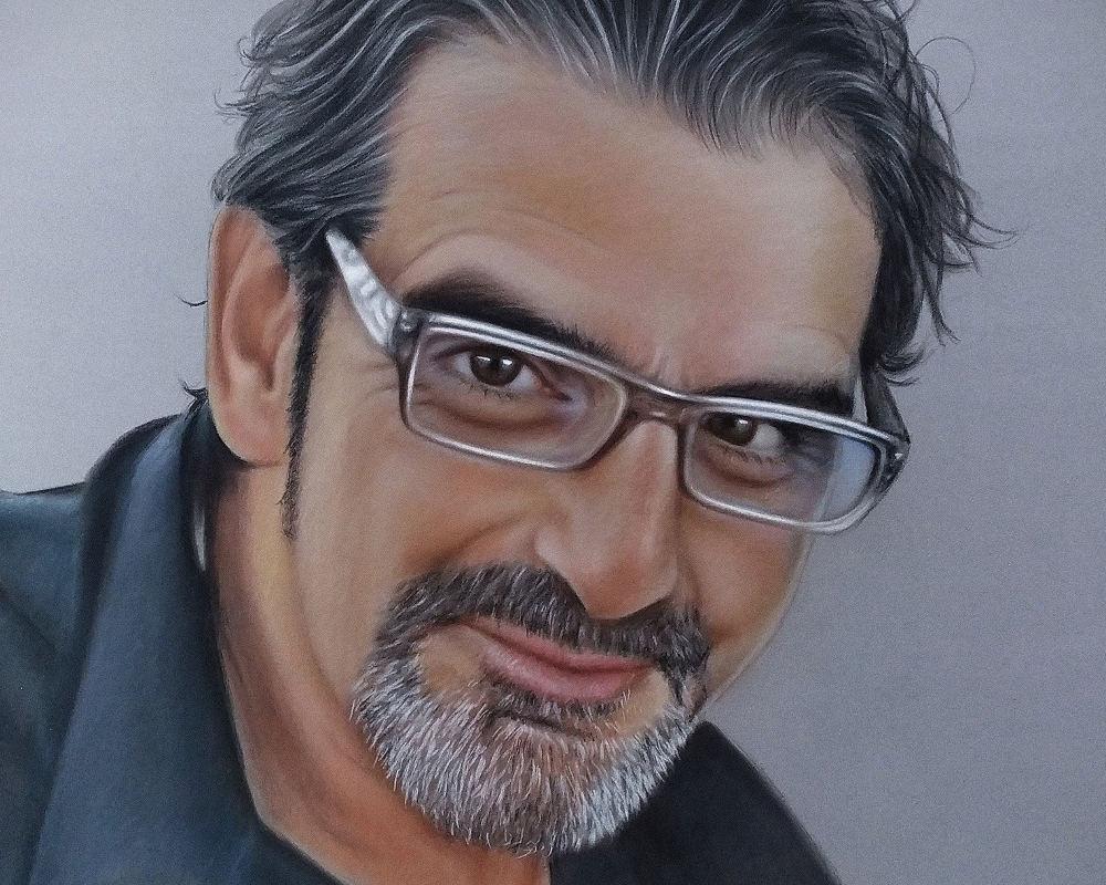 Javier Carballo retrato laura