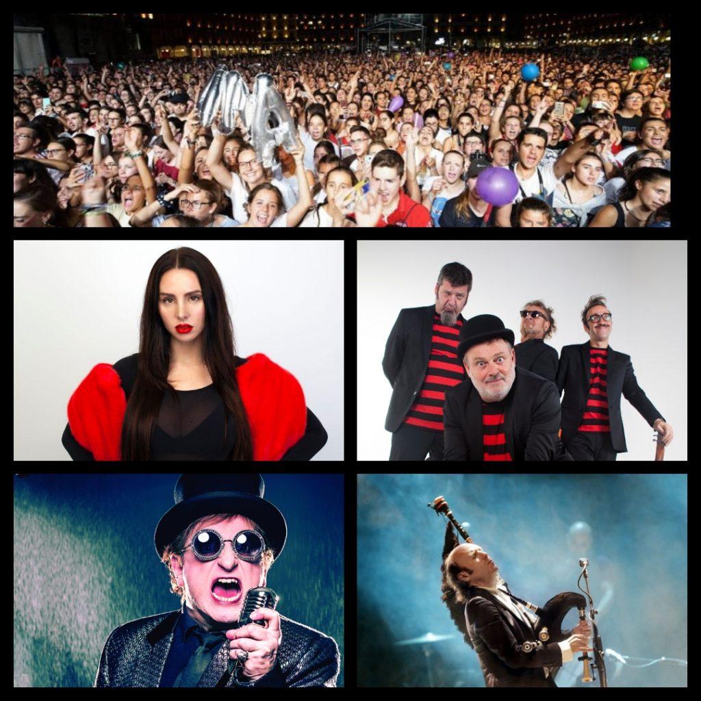 Imagen de conciertos de fiestas de Valladolid 2021