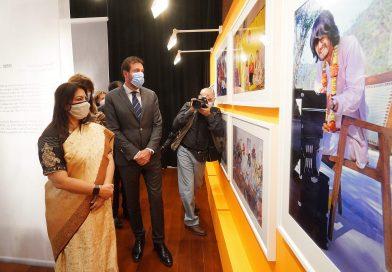 exposición The Beatles and India en valladolid
